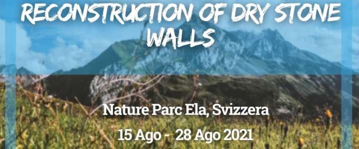 Workcamp in Svizzera: Reconstruction of dry stone walls