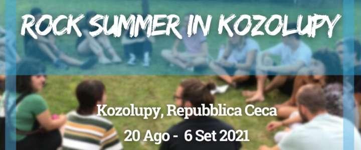 Workcamp in Repubblica Ceca: Rock Summer in Kozolupy