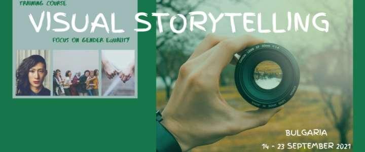 Call per partecipanti: Visual storytelling from A to Z (training finanziato in Bulgaria)