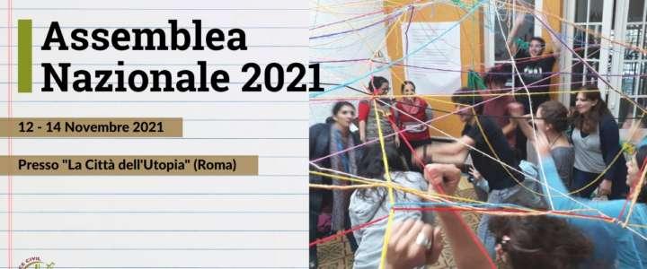 Assemblea Nazionale 2021 del Servizio Civile Internazionale